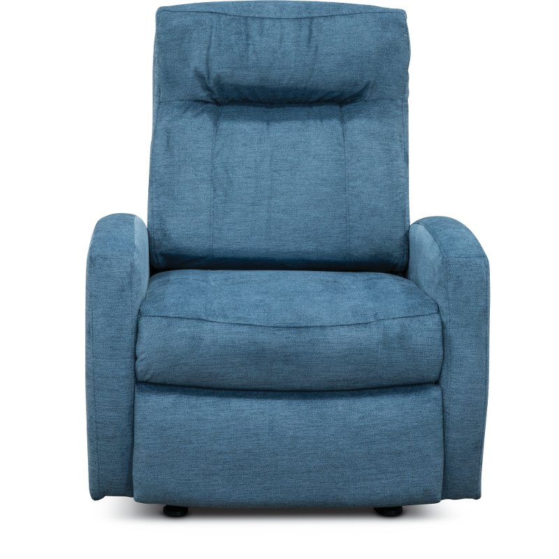 Prime Blue Wideseat Power Rocker Recliner Skyler Gmtry Best Dining Table And Chair Ideas Images Gmtryco