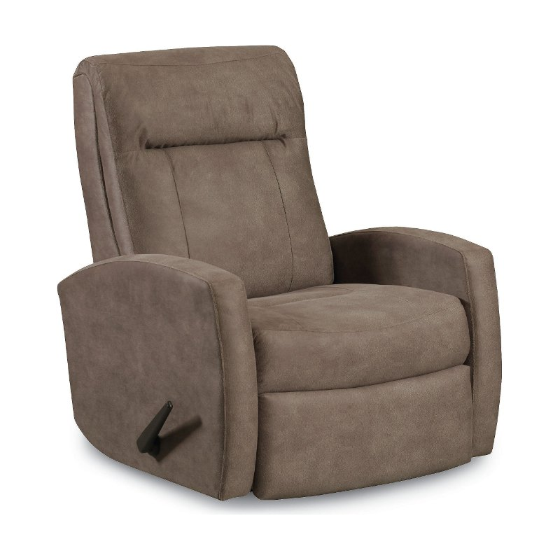 Tan Wideseat Manual Rocker Recliner Skyler Rc Willey