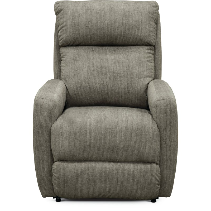 cheap for discount 4b8cf 7df02 Gray Swivel Rocker Recliner - Primo
