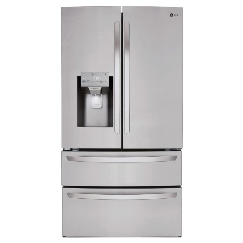 Lg 4 Door French Door Refrigerator 36 Inch Stainless Steel Rc
