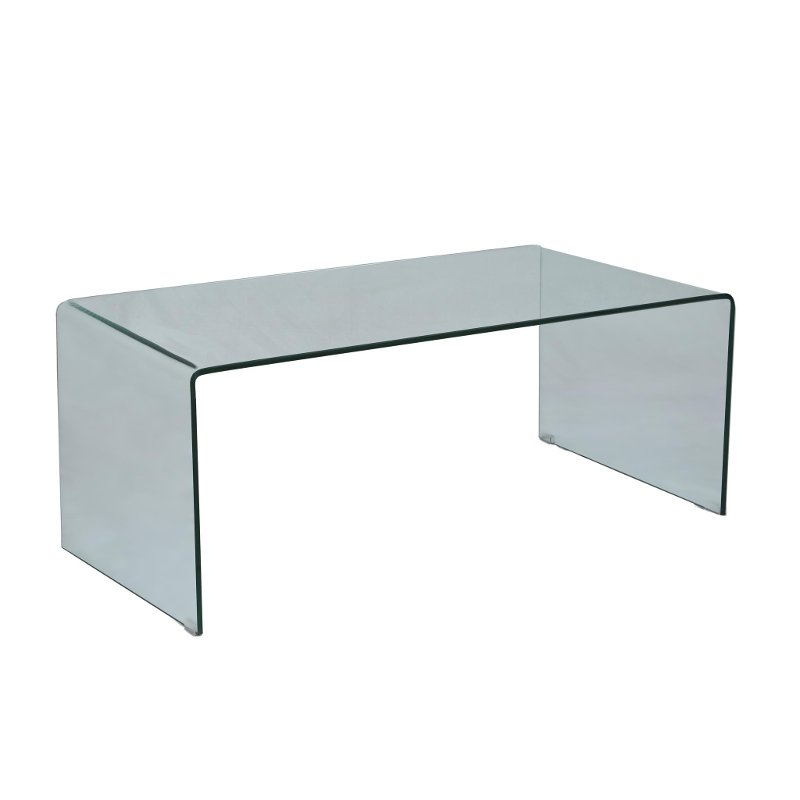Bent Gl Coffee Table Clarity