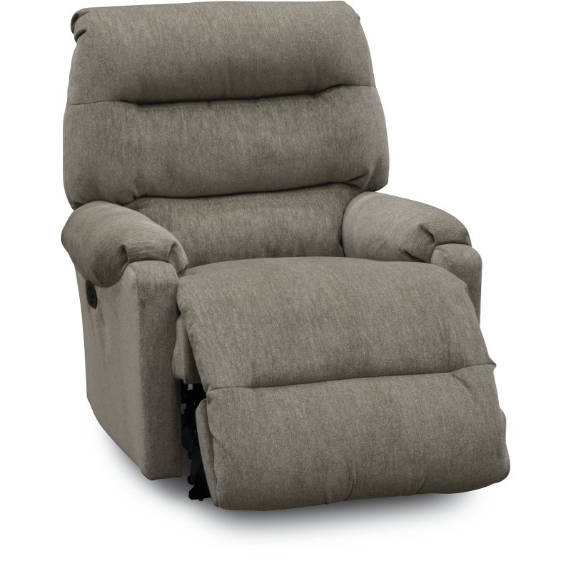 gray small scale power rocker recliner sedgefield rc willey