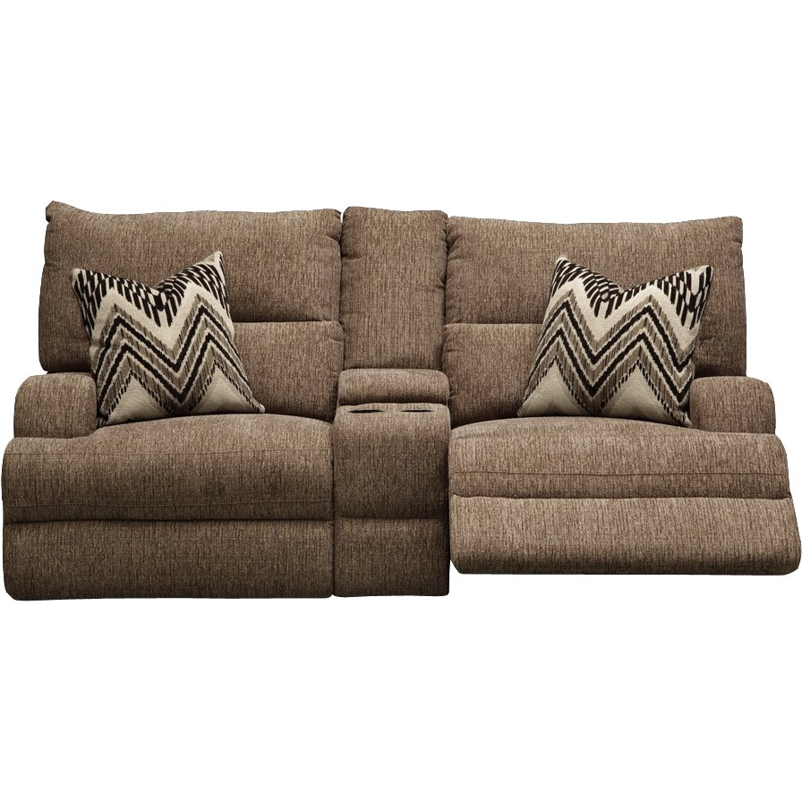 Tremendous Brown Power Loveseat With Console Brindle Forskolin Free Trial Chair Design Images Forskolin Free Trialorg