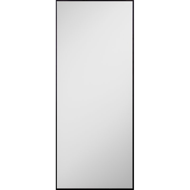 Black Thin Metal Framed Floor Mirror Rc Willey Furniture Store