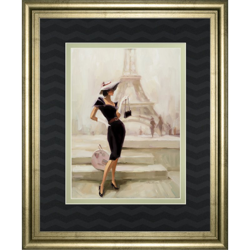 Love, From Paris Framed Wall Art | RC Willey Furniture Store
