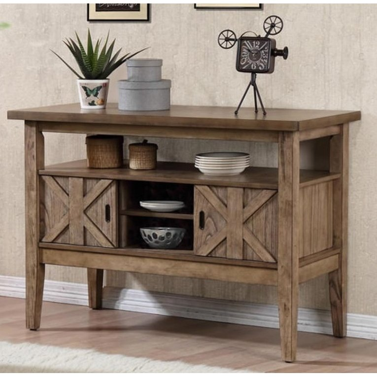 Rc Willey Outlet Center Now Closed: Mushroom Sideboard - Grandview