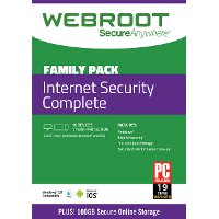 10 Pack - Webroot Internet Security Complete