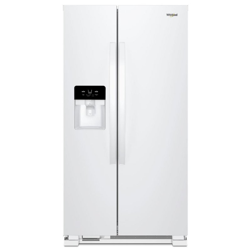 Whirlpool 24 5 Cu Ft Side By Side Refrigerator 36 Inch