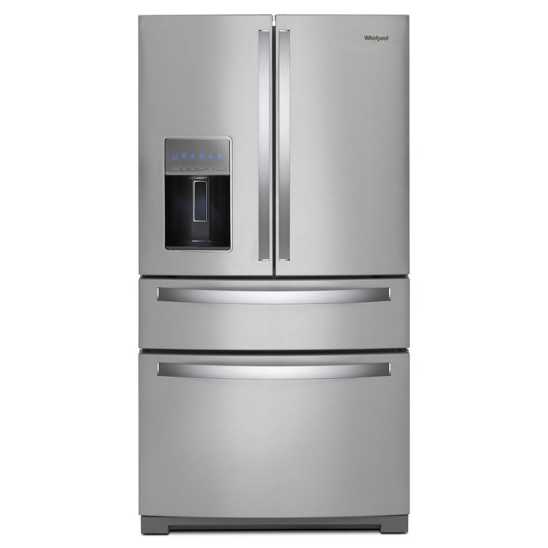 Whirlpool 4 Door French Door Refrigerator 36 Inch Stainless Steel