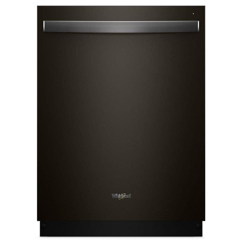 Whirlpool Dishwasher   Fingerprint Resistant Black Stainless Steel | RC  Willey Furniture Store