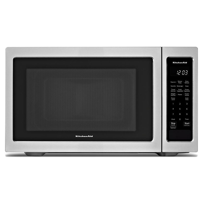 Kmcs1016gss Kitchenaid Countertop Microwave 1 6 Cu Ft Stainless Steel