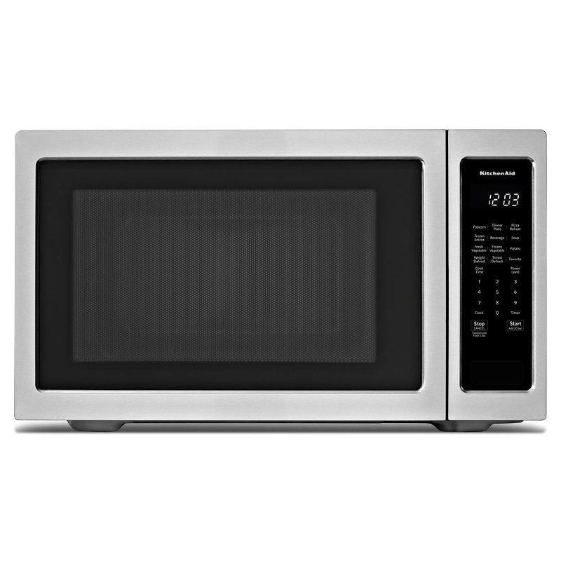 Kitchenaid 2 20 Cu Ft Countertop Microwave Stainless Steel Rc Willey Furniture