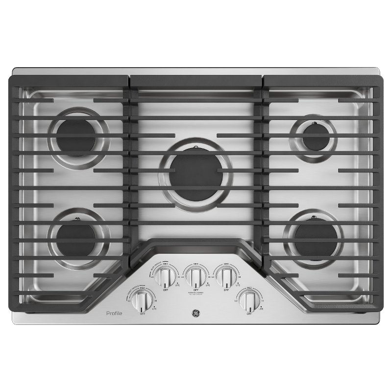 GE Profile 30 Inch Gas Cooktop - Stainless Steel | RC Willey ... on