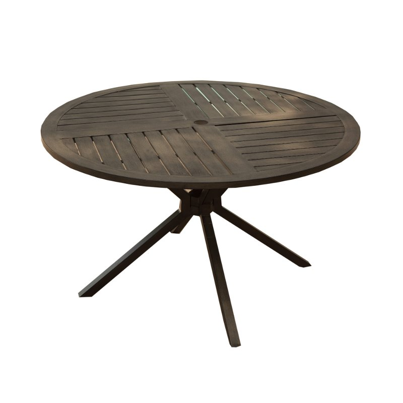 48 Inch Round Patio Table Davenport Rc Willey Furniture Store