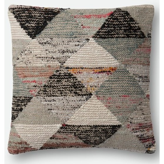 Gray And Multi Color 22 Inch Throw Pillow Rc Willey Furniture Store