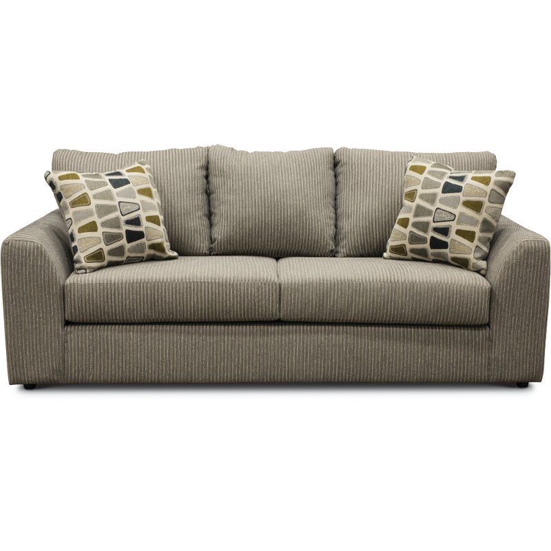 Casual Contemporary Gray Sofa - Hannah