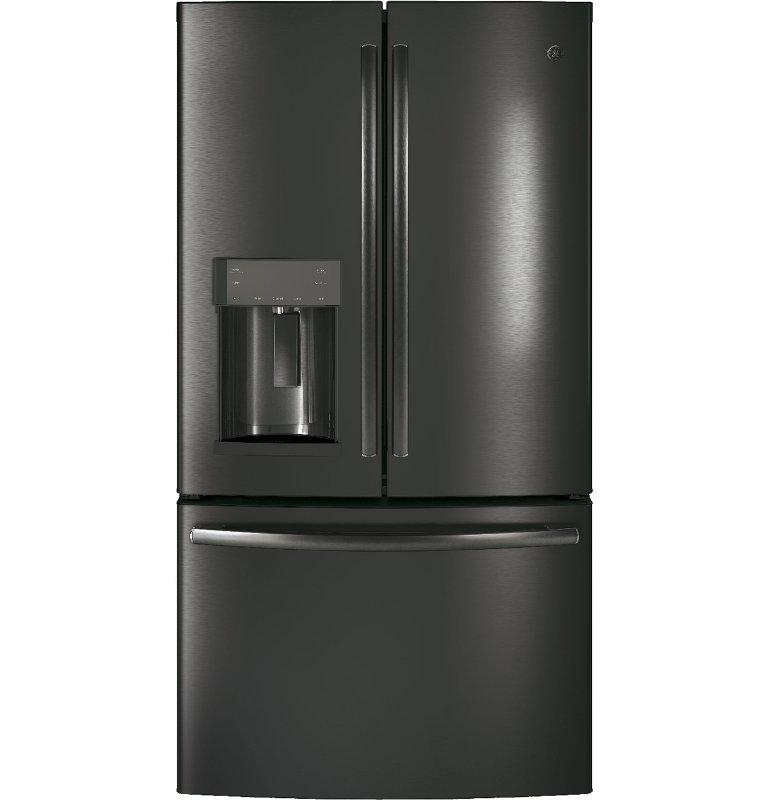 Ge 22 2 Cu Ft Counter Depth French Door Refrigerator