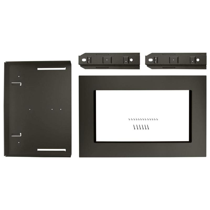 KitchenAid Microwave Trim Kit   30 Inch Black Stainless Steel | RC Willey  Furniture Store