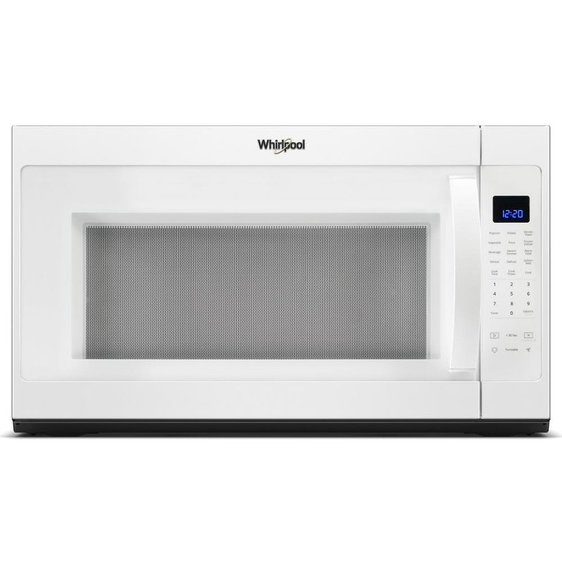 Over The Range Microwave With Steam Cooking White