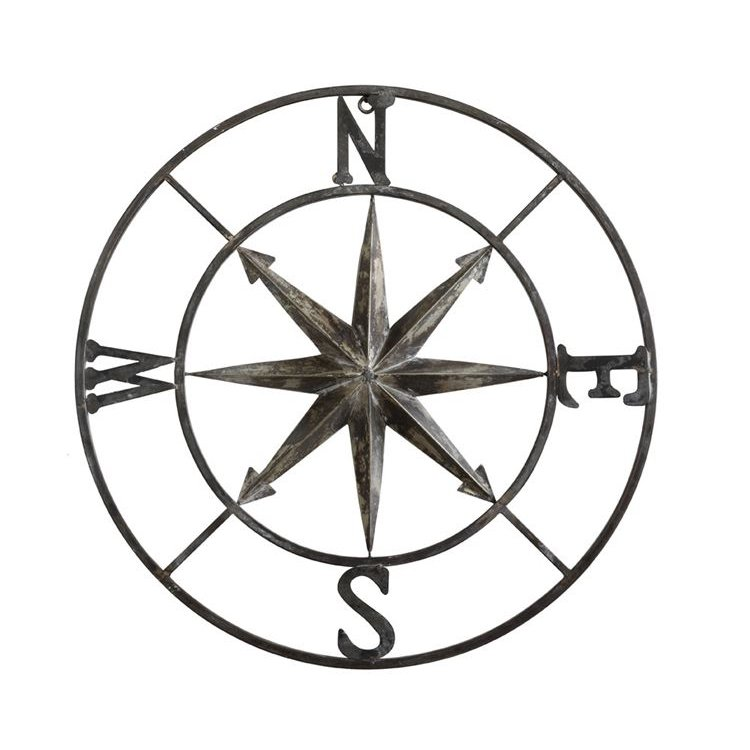 Compass Wall Decor
