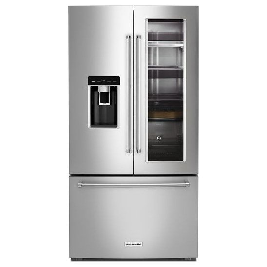 Incroyable KRFC804GPS KitchenAid French Door Refrigerator   36 Inch Stainless Steel