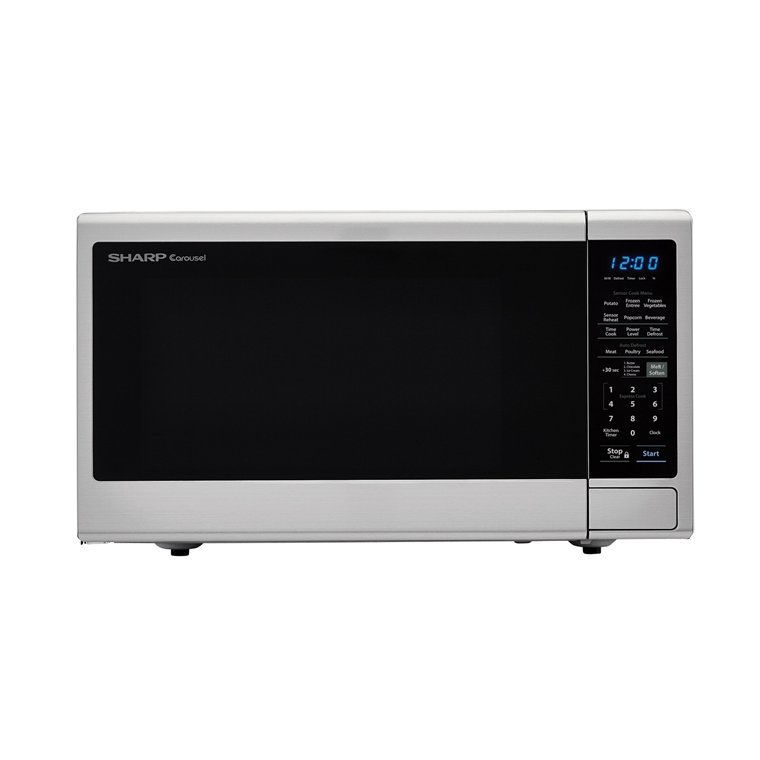Sharp 1 4 Cu Ft Microwave Stainless Steel Rc Willey Furniture