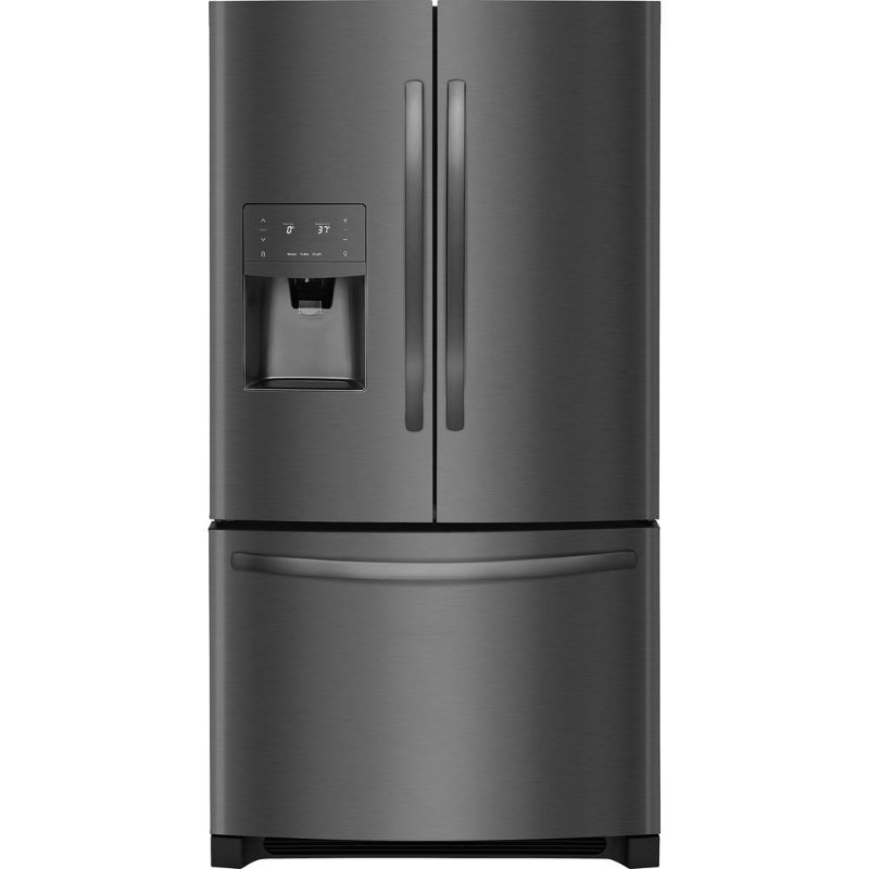 Charmant Frigidaire French Door Counter Depth Refrigerator   36 Inch Black Stainless  Steel | RC Willey Furniture Store