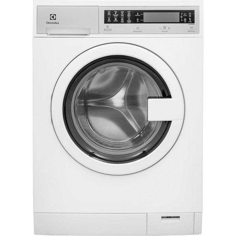 Electrolux Compact Front Load Washer with Steam - White