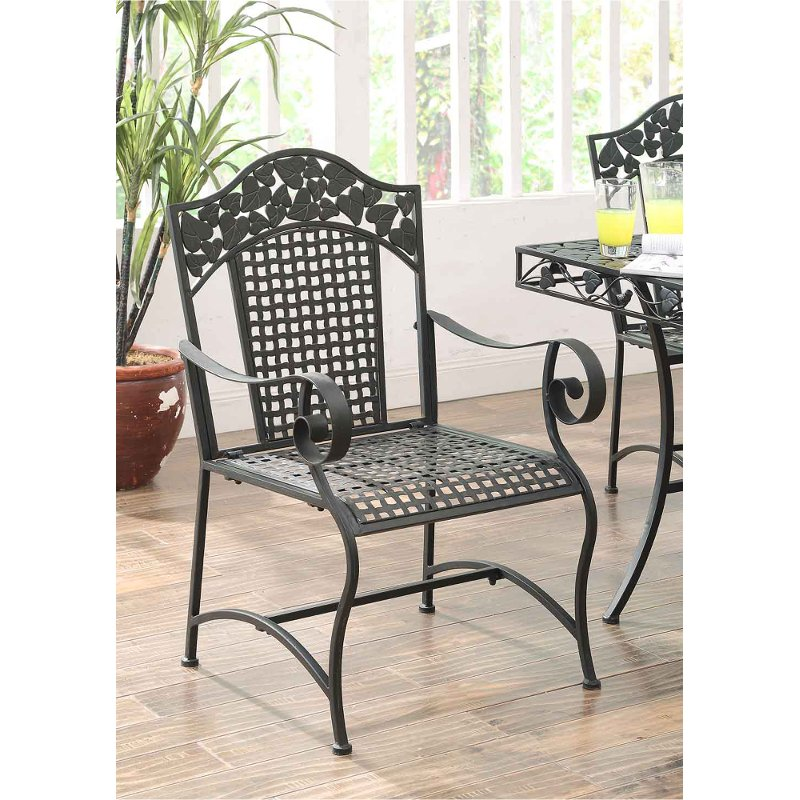 2 Metal Outdoor Patio Chairs Ivy League Rc Willey Furniture Store