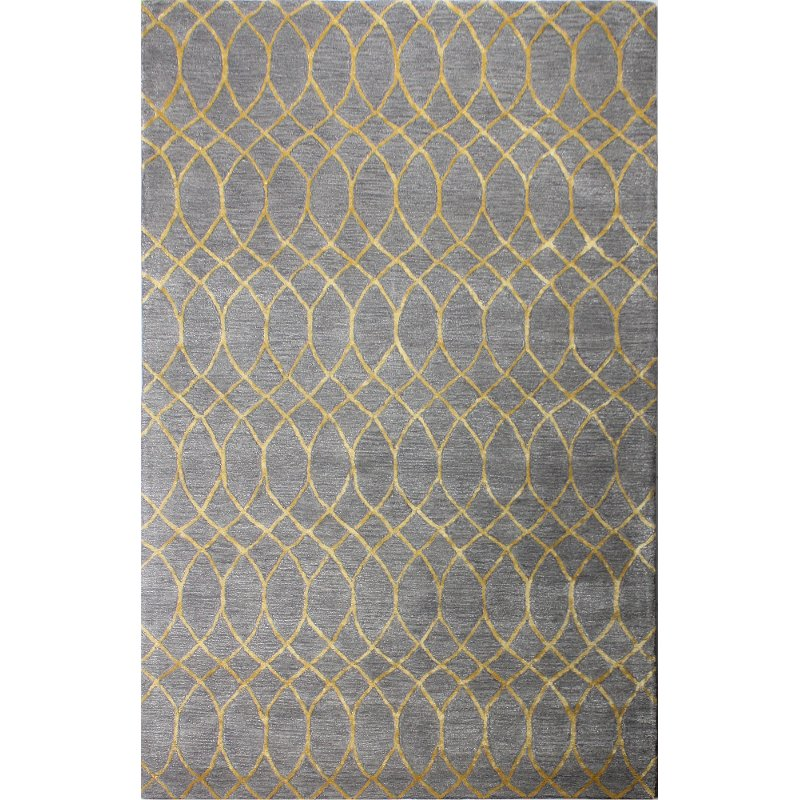 8 X 10 Large Gray Area Rug Greenwich