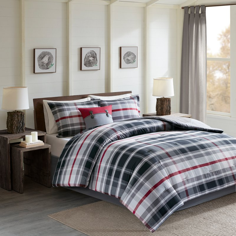 Black Forest Twin Comforter Bedding Collection Rc Willey Furniture