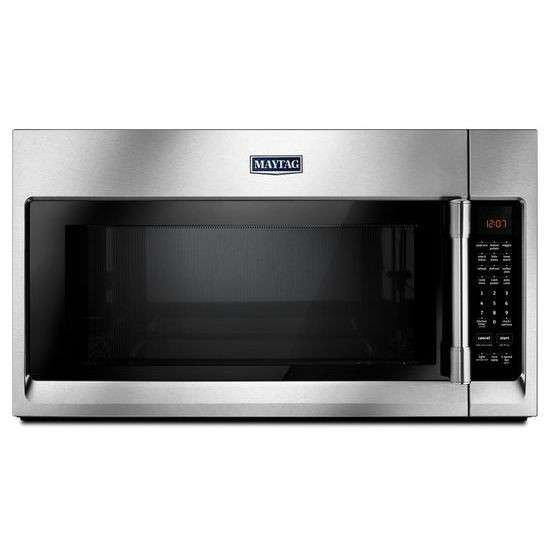 Mmv5220fz Maytag Over The Range Microwave 2 1 Cu Ft Stainless Steel