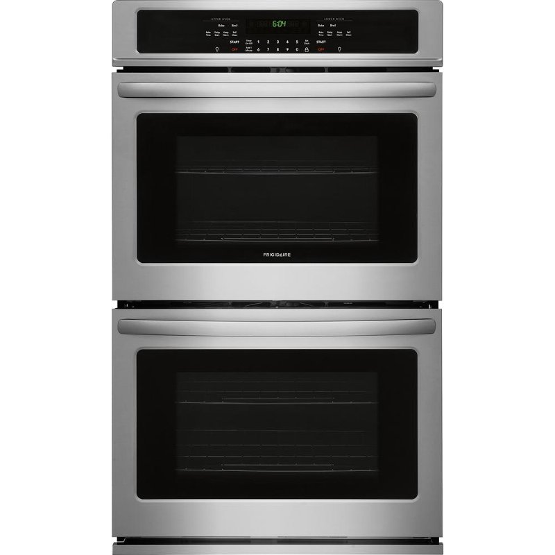 Frigidaire 27 Inch Double Wall Oven 7 6 Cu Ft Stainless Steel