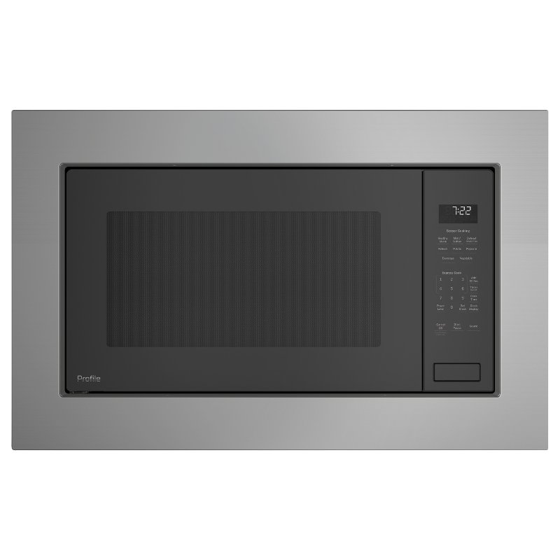 Delightful PEB7227+JX7227 S/S GE Profile Series Built In Microwave And Trim
