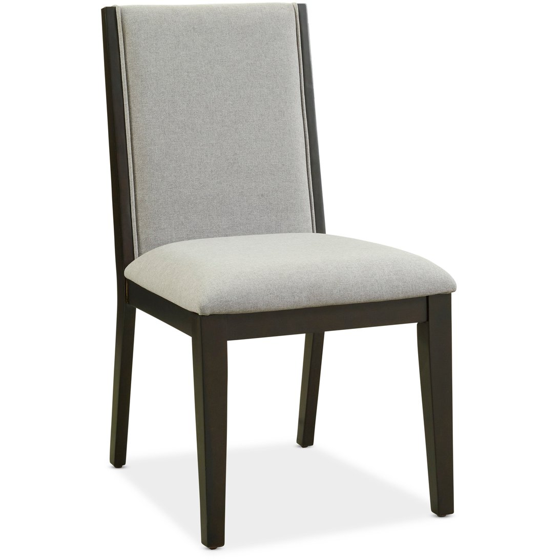 Furniture Clearance Sacramento: Gray Upholstered Dining Room Chair - Crosby Street