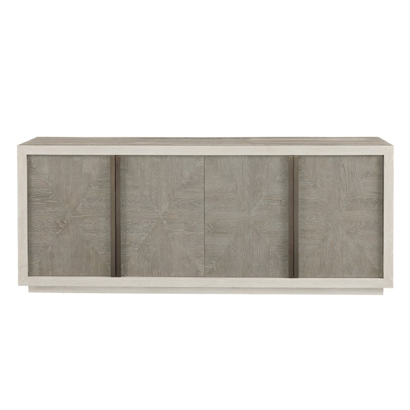 Flint Gray And Quartz Modern Dining Room Buffet