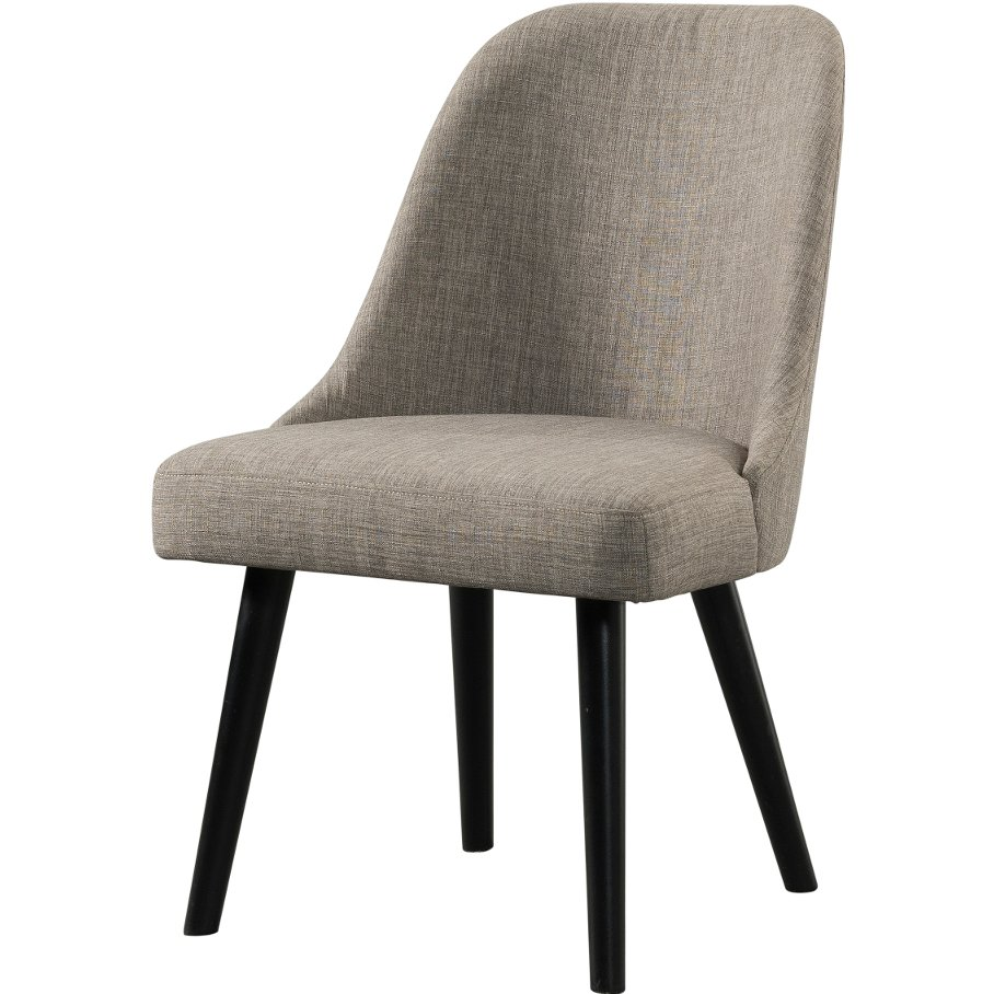 Modern barrel upholstered dining chair foundry