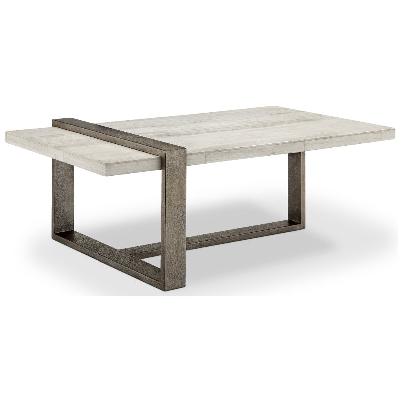 Marble Ultra Modern Coffee Table Wiltshire Rc Willey Furniture Store