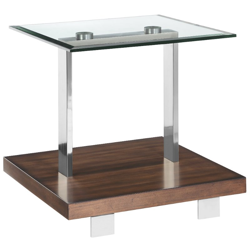 09c62e609029 Minimalistic Modern Glass End Table - Modern Loft