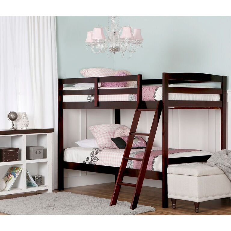 Cherry Twin Over Twin Bunk Bed Taylor Rc Willey Furniture Store
