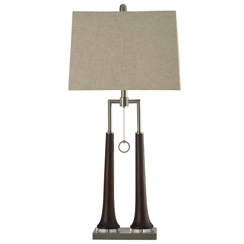 Contemporary Single Ring Pull Chain Table Lamp Rc Willey Furniture