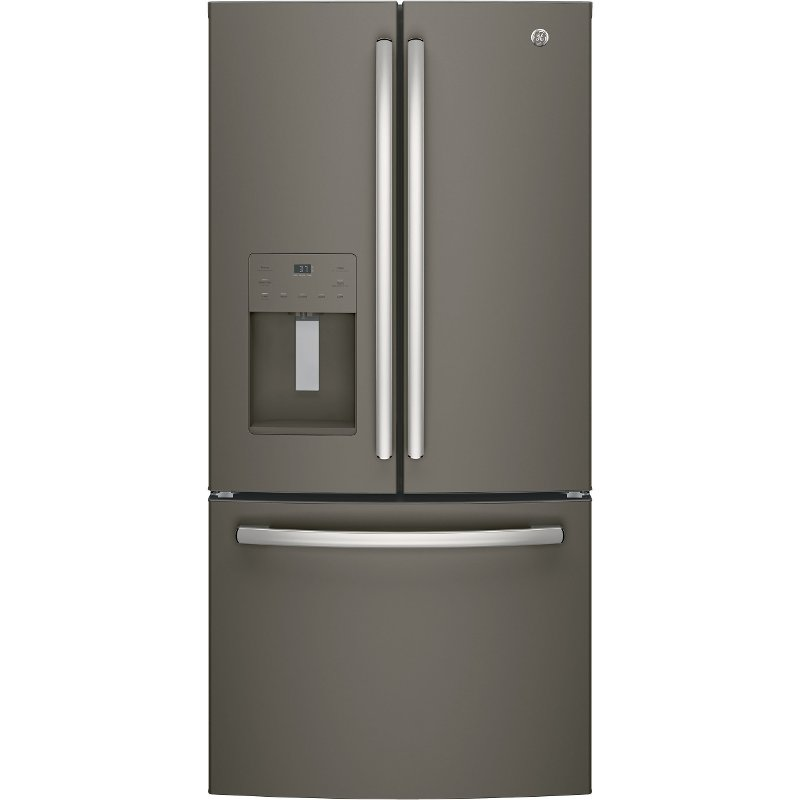 Ordinaire GE Counter Depth French Door Refrigerator   33 Inch Slate | RC Willey  Furniture Store