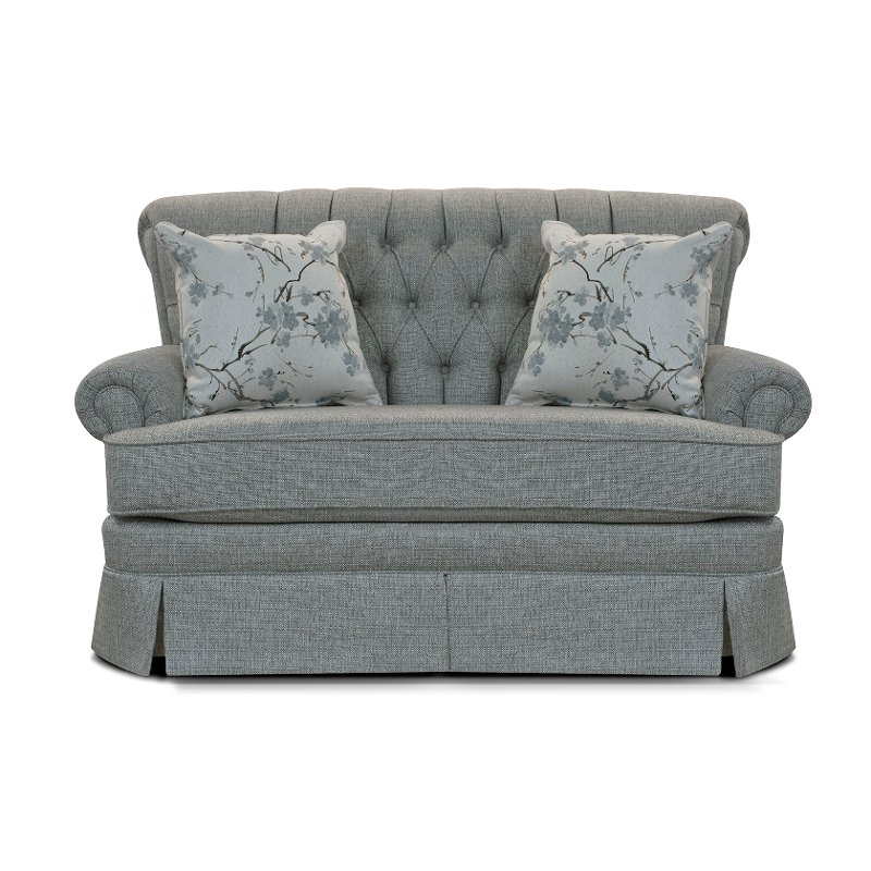 Gray Blue Sette Glider With 2 Throw Pillows   Fernwood | RC Willey Furniture  Store