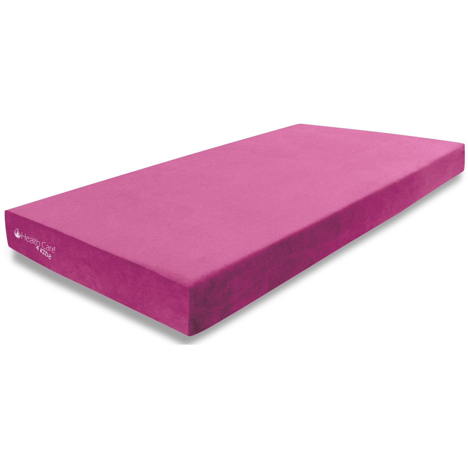 Health Care Pink Memory Foam Twin Mattress And Pillow 4 Kids Dream Rc Willey Furniture Store