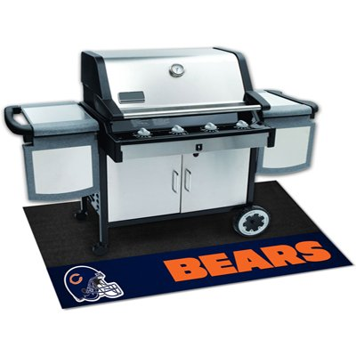 2 X 4 Small Chicago Bears Grill Mat, Chicago Bears Furniture