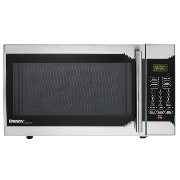 Danby Compact Microwave 0 7 Cu Ft Stainless Steel Rc Willey Furniture