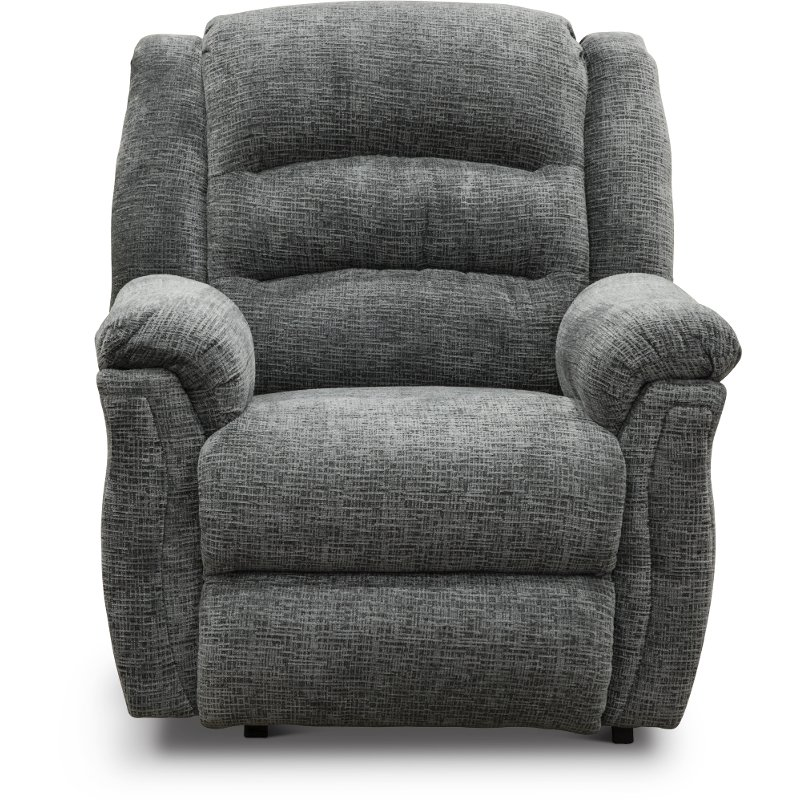 Gray Manual Rocker Recliner Max Rc Willey Furniture Store