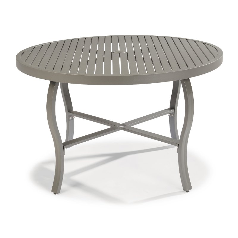48 Inch Round Outdoor Dining Table Daytona Rc Willey Furniture Store
