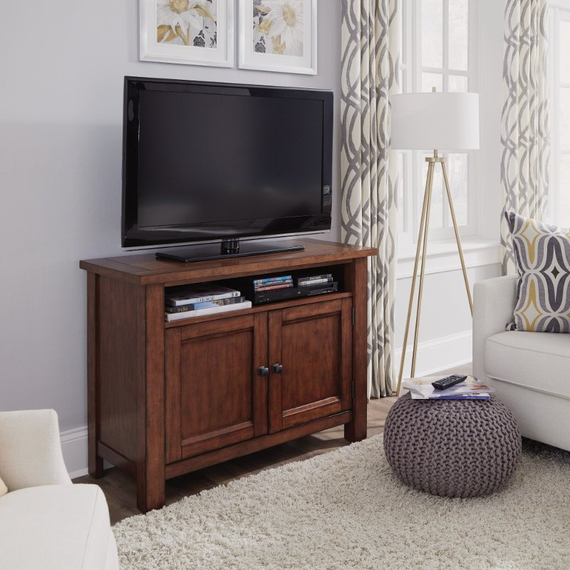 buy online 062ce 9f846 44 Inch Maple Brown TV Stand - Tahoe