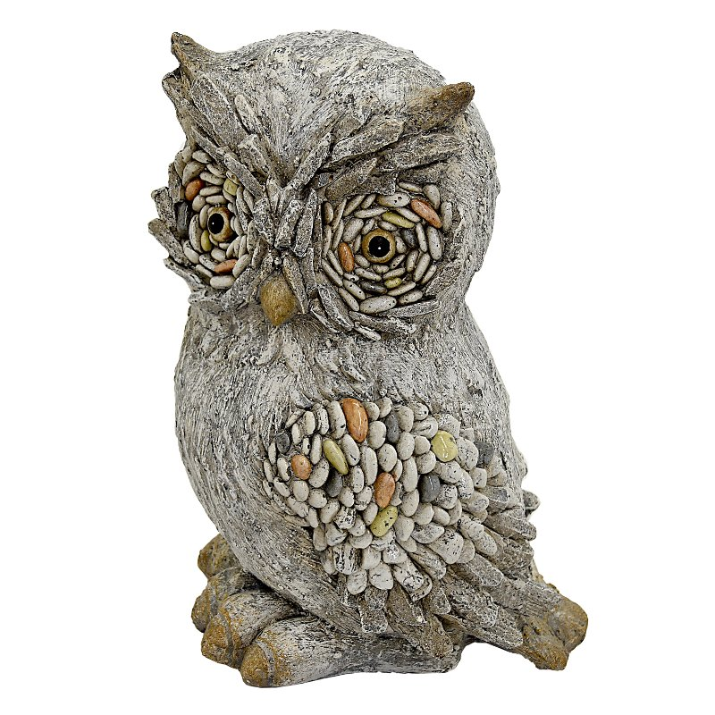 Resin Owl Garden Figurine RC Willey Furniture Store